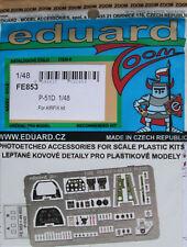 Eduard 1/48 FE853 Colour Zoom etch for the Airfix P-51D Mustang kit