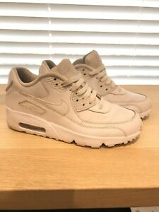 Nike Air Max 90 All White Womens Size 38.5