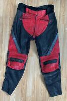 Women's Frank Thomas Motorcycle Motorbike Leather Trousers Black XTREME SPORT 16