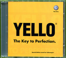 Yello THE KEY TO PERFECTION Mint promo CD TOY Dieter Meier/Boris Blank VW Golf