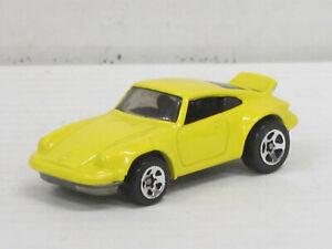 Porsche 911 RS in gelb, ohne OVP, Hot Wheels, ca. 1:64