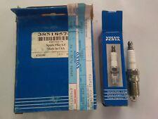 NEW VOLVO-PENTA SPARK PLUG KIT P/N 3851857-7.  SET OF 4 PLUGS.