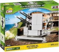 german FLAK 2cm FLAKVIERLING 38 COBI 2186 bricks blocks