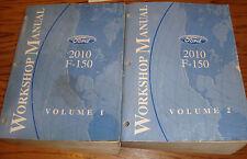 Original 2010 Ford F-150 Shop Service Manual Volume 1 & 2 Set 10