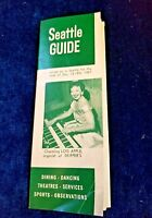 This Week In Seattle The Seattle Guide DEC 13 - 19th 1957 Vintage Ads Brochure