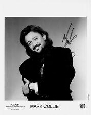 MARK COLLIE hand-signed FANTASTIC YOUNG 8x10 PORTRAIT authentic w/ UACC RD COA