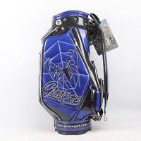 New Guiote Blue Spider Golf staff bag caddie cart bag comes with Rainhood