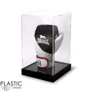 Boxing Glove Display Case Signed Autographed Boxing Glove Riser Stand Display
