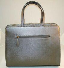 Dasein Womens Briefcase Business Satchel w/ Shoulder Strap, Bronze Color