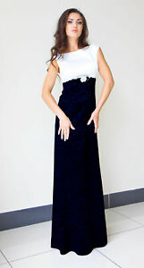 New Ladies Womens Wedding  Ball Gown Cocktail Evening Maxi Party Dress Size 18