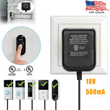New listing 18V Ac Power Supply Battery Charger Adapter For Ring Video Doorbell 1/2/2 Pro