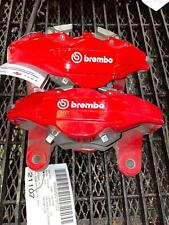 Rear Brake Calipers Brembo Kia Stinger Right Left 18 19 20 Red