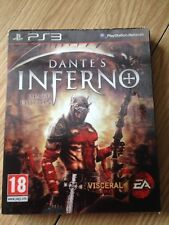 DANTE'S INFERNO DEATH EDITION + DVD BONUS PLAYSTATION 3 PS3 COMPLET FRANCAIS