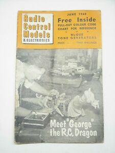 Radio Control Models & Electronics June 1960 Airplane