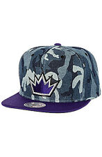 SACRAMENTO KINGS MITCHELL AND NESS SNAPBACK HAT