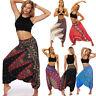 Women Casual Loose Yoga Trousers Baggy Boho Baggy Loose Jumpsuit Harem Pants Id