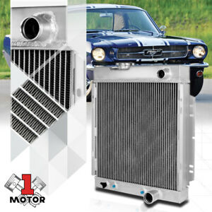 Aluminum 3 Row Core Performance Cooling Radiator for 63-66 Falcon/Mustang/Comet