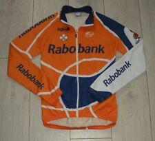"Rabobank ""2"" Agu UCI Maglia Cycling Shirt Trikot Jersey Full Zip Jacket"