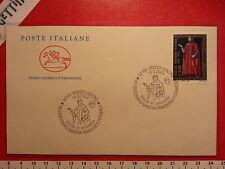 Busta F.D.C. 18.3.2004 Arezzo VII CENTENARIO NASCITA FRANCESCO PETRARCA