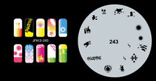 Fingernagel Schablone (airbrush nail art) JFH13-243