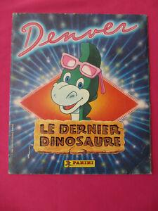 Album Panini DENVER LE DERNIER DINOSAURE incomplet 1988 (manque pages 15 à 18)