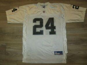 Charles Woodson #24 Las Vegas Oakland Raiders NFL Reebok Jersey LG L mens