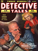 56 Vintage American Mystery, Detective Crime fiction Pulp Magazine (.pdf on DVD)
