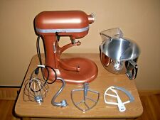 KitchenAid Professional 600 Mixer Copper W/Accessories TESTED GREAT SPOTLESS
