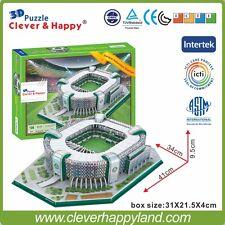 3D Puzzle Model  Estadio Parque Antarctica Stadium Palmeiras FC Sao Paulo Brazil