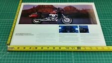 1987 Harley-Davidson FXRT Sport Glide 2-Page Ad & Color Photos
