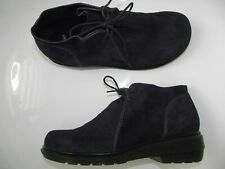 DR MARTENS  Selima Size 42 / UK 8  Leather Shoes Boots Gothic Purple Suede