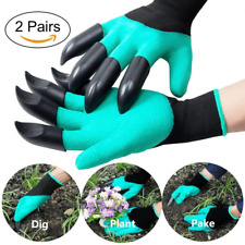 Garden Gloves 2 Pairs Thorn-proof Genie for Digging And Roses Cactus Planting on