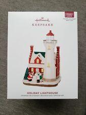 2019 Hallmark Holiday Lighthouse Ornament With Light