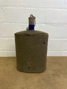 WW1 British Army 1908 Pattern MkIV Enamel Cobalt Blue Water Bottle Canteen