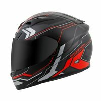 Scorpion EXO-R710 Transect Full Face Street Motorcycle Helmet Red Med 75-1044M