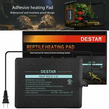 104-122℉ Reptile Heat Mat Under Tank Heater Terrarium Warmer Heating Pad Turtle
