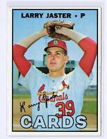 1967 Topps #356 Larry Jaster St. Louis Cardinals Baseball Card