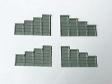 Outland Models Train Railroad Layout Retaining Wall x4 for Tunnel Portal Z Scale