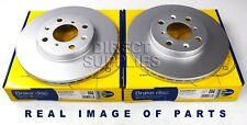 2 X FRONT BRAKE DISC VAUXHALL OPEL AGILA Mk II B 1.0 1.2 1.3 SUZUKI SPLASH SWIFT