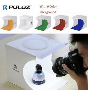 PULUZ 40 LED Photo Studio Shooting Lighting Tent Kit Portable Mini Cube Tent Box