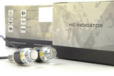 Morimoto MC Universal Pindicator Clear Lens Amber And White LED Directionals