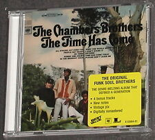 THE CHAMBERS BROTHERS The Time Has Come CD 2000 US-Import MINT OOP