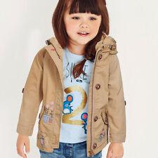NEXT Mantel Jacke mit Kapuze Mouse für Mädchen 18-24 Monate 92cm 16b
