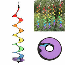Gear Home Garden Decor Classic Toys Rainbow Spiral Windmills Wind Spinners