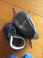 Lot Chaussures Bleu Marine Bootie 19, Chaussons Souples, Chaussures Toile Jean