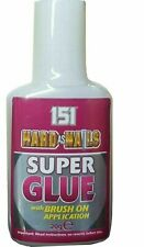 151 Hard As Nails Super Glue Adhesive 20g Extra Strong Ceramic Wood Rubber