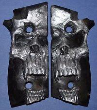 Taurus PT945 Pistol Grips large pearl skull
