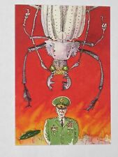 Topps Mars Attacks Trading Card 1994 Base Card NM #83 A Beetle vs Army Brass