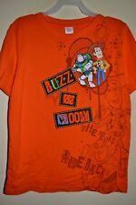 TOY STORY/BUZZ & WOODY-BOYS SIZE M(8)-LICENSED SHORT SLEEVE-NWOT