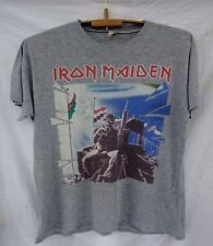 Iron Maiden 2 Minutes To Midnight Powerslave RaRe vintage t-shirt World tour